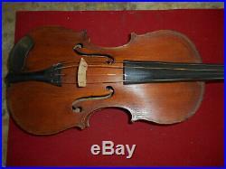 Rare Violon Objet De Tranchet Decore Du 75 Ri 1916/1918