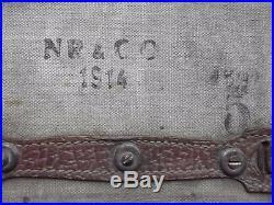 Rare WW1 US Porte bagage sacoches Moto ou vélo 14/18 GI