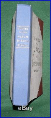 Rare album vignette Guerres 1914, Delandre WW1 cinderella 150 vignettes