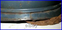 Rare casque Adrian Officier d' Infanterie, bleu-horizon, 1 ère modèle sans rivets