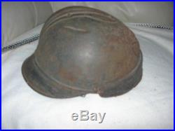 Rare casque tankiste modèle 19 ww1