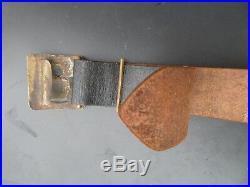 Rare ceinturon modèle 1845 à plaque du Génie Pioupiou 14/18