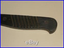 Rare couteau de botte tranchée soldat Allemand 1914-18 WW1
