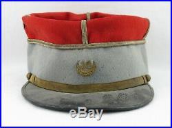 Rare képi Adjudant 16ème Régiment de TIRAILLEURS TUNISIENS 14 18 WWI