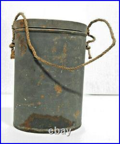 Rare lunettes de protection gaz avec sa boite de transport Poilu WW1 1914 1918