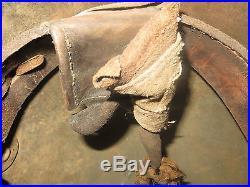 Rare stalhem camouflage tortue, avec sa coiffe, jus de grenier. 1 ère guerre