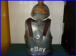 Rare uniforme de cuirassier panoplie enfant en tôle