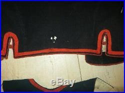 Rare veste, boléro, du 4 ème Régiment de Zouaves, modèle 1879, avec son gilet
