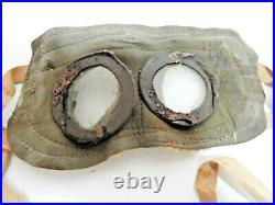 Rares lunettes Française masque de protection gaz France Poilu WW1 1914 1918