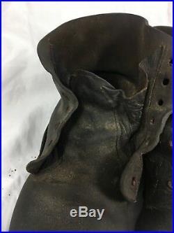 Rarissime brodequins modèle 1916! Tranchée poilu WW1 BH