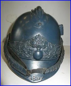 Rarissime casque de Cuirassier à Pieds, Dragon, Cavalerie, 1 ère Guerre, Essai