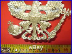 Rarissime et magnifique plaque du 10 ème Bataillon de Pionnier Prussien, mod. 95