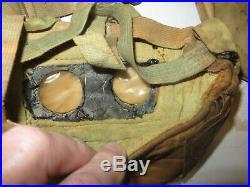 Rarissime masque à gaz M. 2, France, 1 ère guerre mondiale. OBSOLETE, Neutralisé