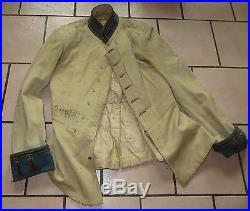 Rarissime veste d' un Sous-Officier d' Infanterie Russe des années 1900