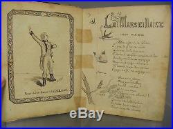 Recueil de chansons du soldat Badaire René du 9e regiment d'Infanterie. 1897