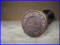 SCEAU CACHET MILITAIRE 1914-18 261 e Régiment d'Infanterie 21e Cie WW1 Seal