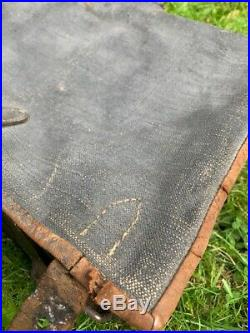 Sac dos As de carreau noir mobilisation français piou piou poilu 1914 1915 MINT