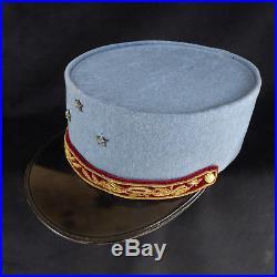 Santé General Képi Bleu Horizon trois étoiles verdun 1914/1918