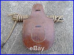 Selle complete d officier cavalerie francais fontes sac avoine poche a fer syrie