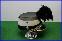 Shako D Officier De Chasseurs A Cheval Modele 1872 III Eme Republique