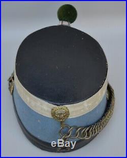 Shako de hussard modèle1874 (troupe)