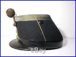 Shako képi 1872 Officier infanterie Empire Napoléon Verdun poilu 14-18 19ème