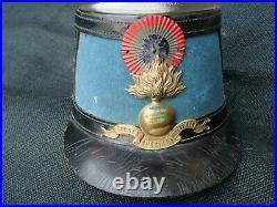 Shako modèle 1872 IIIème république de St-Cyrien St Cyr