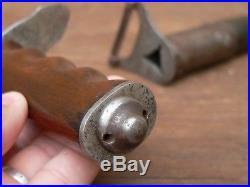 Souvenir WW1 vestige couteau de poilu US Trench knife AEF no casque/cartouchière