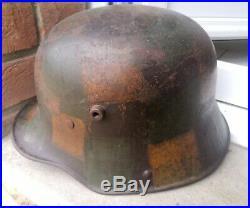 Stahlhelm Ww1 Camouflage Tortue TJ68