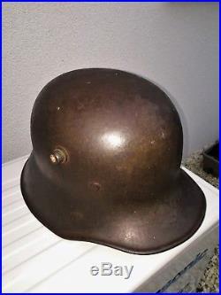 Stahlhelm allemand M18 ww1