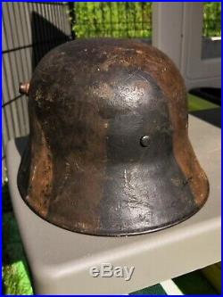 Stahlhelm camouflé casque allemand ww1
