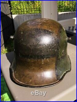 Stahlhelm camouflé ww1 casque allemand