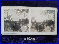 Stéroscope ancien + 111 photos 1ère Guerre mondiale Militaria 14/18 visionneuse