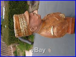 Superbe buste marechal joffre aristide de ranieri paris
