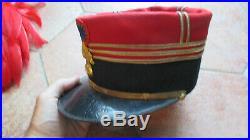 Superbe képi foulard de capitaine d'infanterie vers 1910