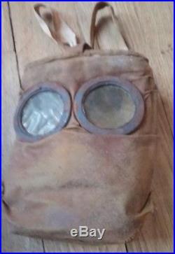 Superbe masque M2 complet M-2 FRANCE 14/18 poilu tranchée verdun kepi