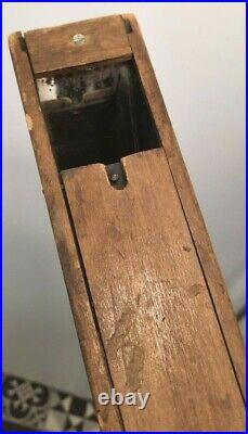 Superbe périscope de tranchée en bois 1914-1918