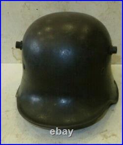 Superbe stalhem modèle 16, Allemagne, marquagesK 64, R 994, 1 ère guerre. WW. 1