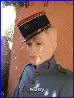 Superbe uniforme du 143 eme ri ww1