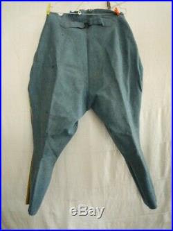 Tenue 3 pieces vareuse culotte calot bleu horizon