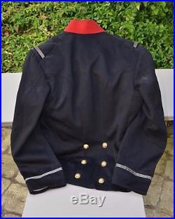 Tenue dadjudant-chef du 123 RI 1914 (képi, tunique et épaulettes)
