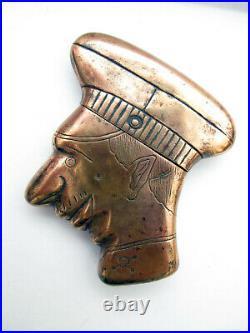 Très beau briquet de poilu Kronprintz cuivre rare
