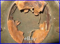 Très beau casque Allemand, stahlhem modèle 1916 camouflé, 1 ère guerre mondiale