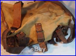 Très rare AS DE CARREAU mle 1893 sac à dos poilu français daté 1916 WWI