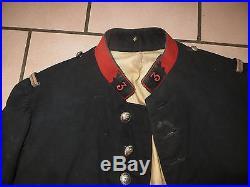 Très rare veste, vareuse pour un Adjudant du 3 ème Régiment de Cuirassiers, 1914