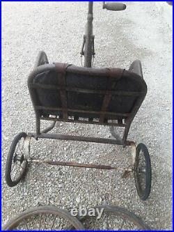Tricycle mutilé de guerre Poirier 1930/1940 poilu grenier