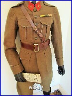 Troupes D'afrique Lot Tenue Uniforme Kepi De Maître Armurier 1920/1930