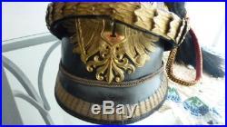 Tschapka Autriche époque monarchie François Joseph, chapka, Czapska, casque