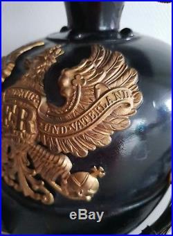 Tschapka officier amovible modele 15 casque allemand ww1