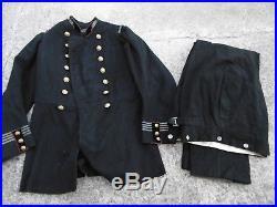 Tunique Francaise 1872 Commandant du 2 eme Genie + Pantalon de ceremonie